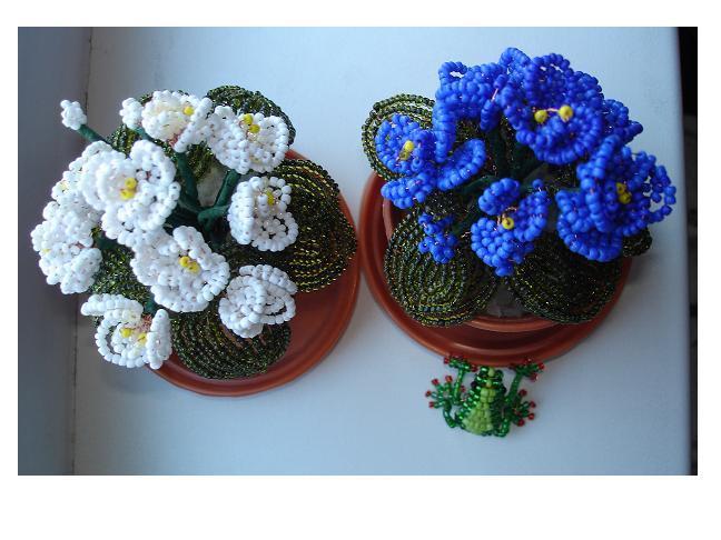 Видео уроки бисер Цветы