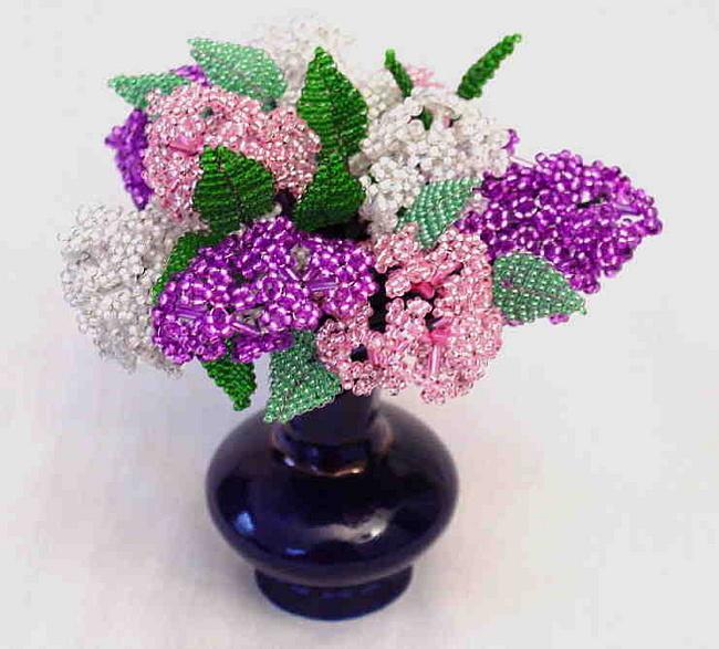 Цветы из бисера цветы из бисера